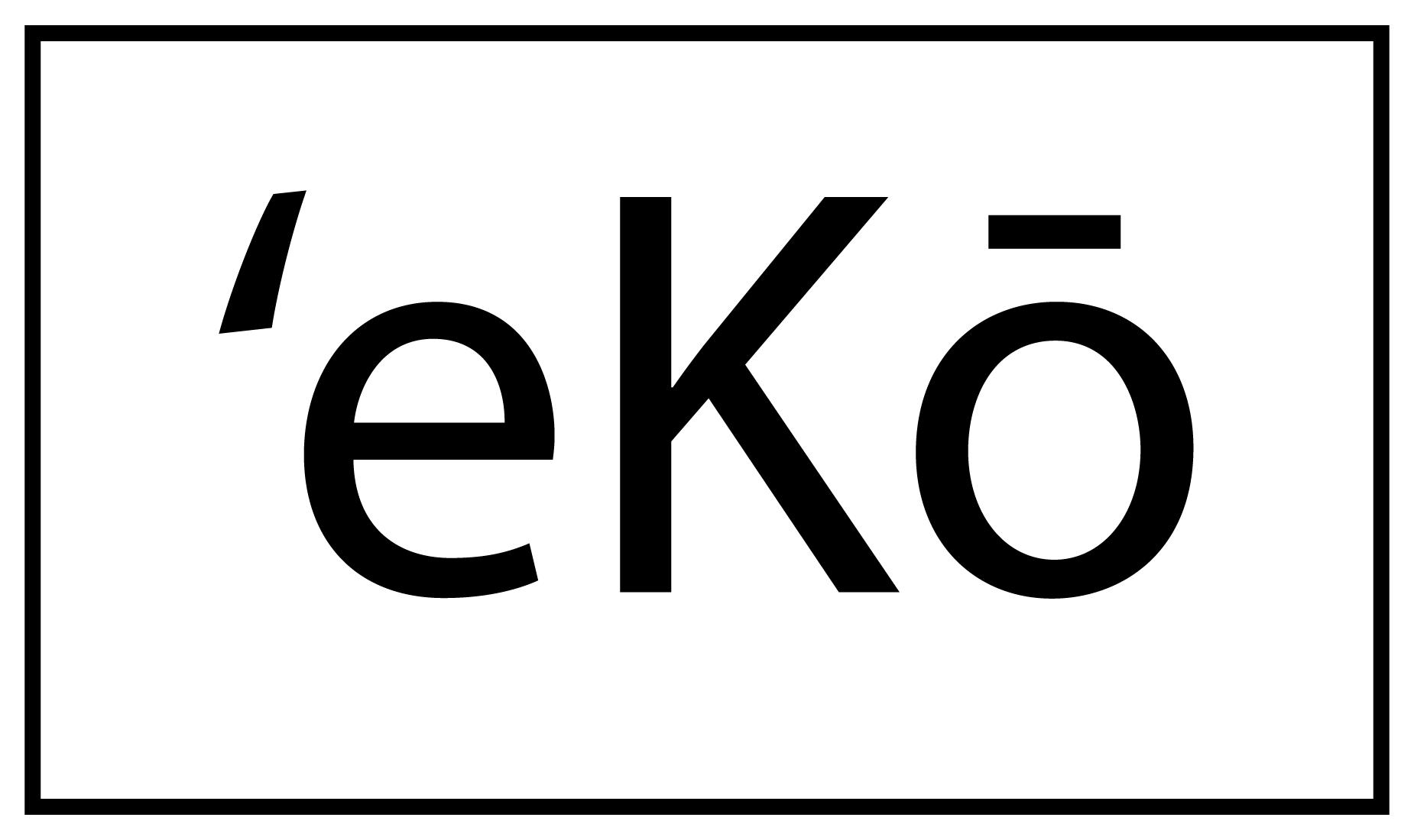 ˈekō Films logo